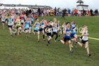 Boys under-13s Northern Cross Country Champs., Pontefract Racecourse. Photo:  David T. Hewitson/Sports for All Pics