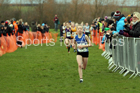 Girls under-13s Northern Cross Country Champs., Pontefract Racecourse. Photo:  David T. Hewitson/Sports for All Pics