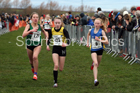 Girls under-15s Northern Cross Country Champs., Pontefract Racecourse. Photo:  David T. Hewitson/Sports for All Pics