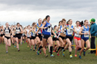 Senior womens Northern Cross Country Champs., Pontefract Racecourse. Photo:  David T. Hewitson/Sports for All Pics