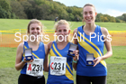 Senior womens Northern Cross Country Relay, Graves Park, Sheffield.  Photo: David T. Hewitson/Sports for All Pics