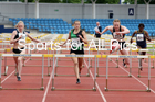 SSenior womens 100 metres hurdles, Northern Senior and Under-20s Champs., Sports City, Manchester. Photo:  David T. Hewitson/Sports for All Pics
