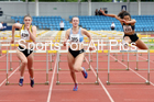 Womens under-20s 100 metres hurdles, Northern Senior and Under-20s Champs., Sports City, Manchester. Photo:  David T. Hewitson/Sports for All Pics