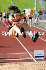 Womens under-17s long jump, 2019 Northern Under-17s/U-15s/U-13s Champs., Wavertree Athletics Centre, Liverpool. Photo: David T. Hewitson/Sports for All Pics
