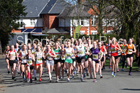 Girls under-15s 5k, Northern Under-17s and Under-15s 5k Road Race Champs., Birkenhead Park, Wirral. Photo: David T. Hewitson/Sports for All Pics