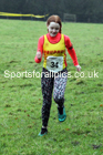 Girls under-13s, NECAA Junior Cross Country Relays, Thornley Farm, Peterlee, Saturday, December 12th. Photo: David T. Hewitson/Sports for All Pics