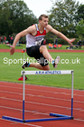 400 metres hurdles, NECAA Open Meeting, Morpeth, Sunday, September 27th. David T. Hewitson/Sports for All Pics