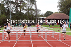 Hurdles, NECAA Open Meeting, Morpeth, Sunday, September 27th. David T. Hewitson/Sports for All Pics