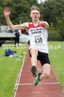 Long jump, NECAA Open Meeting, Morpeth, Sunday, September 27th. David T. Hewitson/Sports for All Pics
