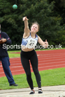 Shot putt, NECAA Open Meeting, Morpeth, Sunday, September 27th. David T. Hewitson/Sports for All Pics