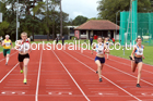 100 metres 01, NECAA Open Meeting, Morpeth, Sunday, March 23rd. David T. Hewitson/Sports for All Pics