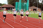 100 metres 04, NECAA Open Meeting, Morpeth, Sunday, March 23rd. David T. Hewitson/Sports for All Pics