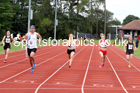 100 metres 07, NECAA Open Meeting, Morpeth, Sunday, March 23rd. David T. Hewitson/Sports for All Pics