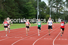 100 metres 11, NECAA Open Meeting, Morpeth, Sunday, March 23rd. David T. Hewitson/Sports for All Pics