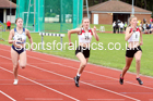 100 metres 12, NECAA Open Meeting, Morpeth, Sunday, March 23rd. David T. Hewitson/Sports for All Pics