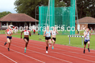 100 metres 13, NECAA Open Meeting, Morpeth, Sunday, March 23rd. David T. Hewitson/Sports for All Pics