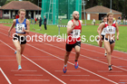 100 metres 17, NECAA Open Meeting, Morpeth, Sunday, March 23rd. David T. Hewitson/Sports for All Pics