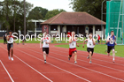 100 metres 22, NECAA Open Meeting, Morpeth, Sunday, March 23rd. David T. Hewitson/Sports for All Pics