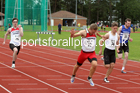100 metres 23, NECAA Open Meeting, Morpeth, Sunday, March 23rd. David T. Hewitson/Sports for All Pics