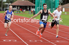 100 metres 27, NECAA Open Meeting, Morpeth, Sunday, March 23rd. David T. Hewitson/Sports for All Pics