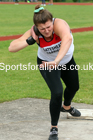 Shot Putt 01, NECAA Open Meeting, Morpeth, Sunday, March 23rd. David T. Hewitson/Sports for All Pics