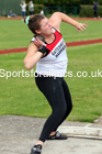 Shot Putt 03, NECAA Open Meeting, Morpeth, Sunday, March 23rd. David T. Hewitson/Sports for All Pics