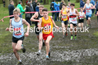 Junior boys, 2020 New Balance English Schools Champs., Sefton Park, Liverpool. Photo: David T. Hewitson/Sports for All Pics