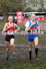 Junior girls, 2020 New Balance English Schools Champs., Sefton Park, Liverpool. Photo: David T. Hewitson/Sports for All Pics