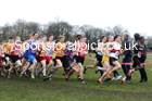 Senior boys, 2020 New Balance English Schools Champs., Sefton Park, Liverpool. Photo: David T. Hewitson/Sports for All Pics