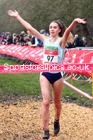 Senior girls, 2020 New Balance English Schools Champs., Sefton Park, Liverpool. Photo: David T. Hewitson/Sports for All Pics