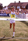 Ingrid Kristiansen winning the 1991 Great North Run