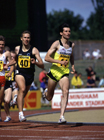 Seb Coe in the AAA Champs, Birmingham, 1989