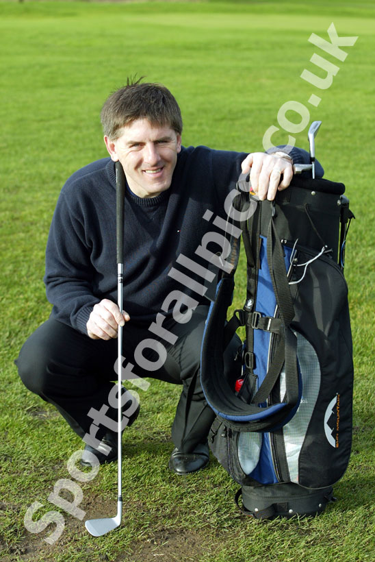 Peter Beardsley at Newcastle United Golf Club