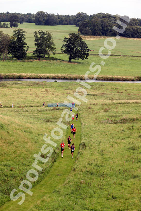 Alnwick Castle grounds, Bamburgh Triathlon